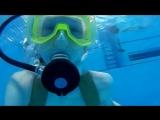 Плаваю с аквалангом!