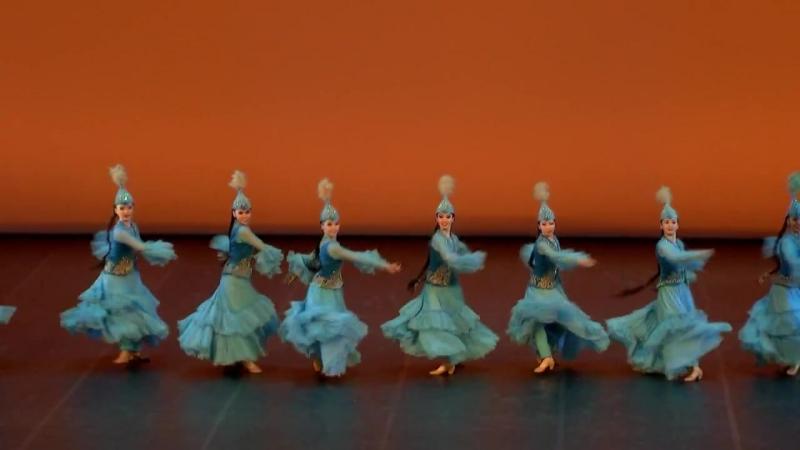 Первый отчетный концерт Казахской Национальной Академии хореографии