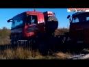 Американские и Немецкие грузовики на севере по Бездорожье. American Trucks in the North and off-Road