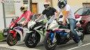 Bikers 76 Honda CBR 1000RR Burnout RL Kawasaki BMW Yamaha Suzuki Ducati MV Agusta