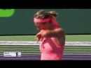 «vika7 making her presence known on court miamiopen