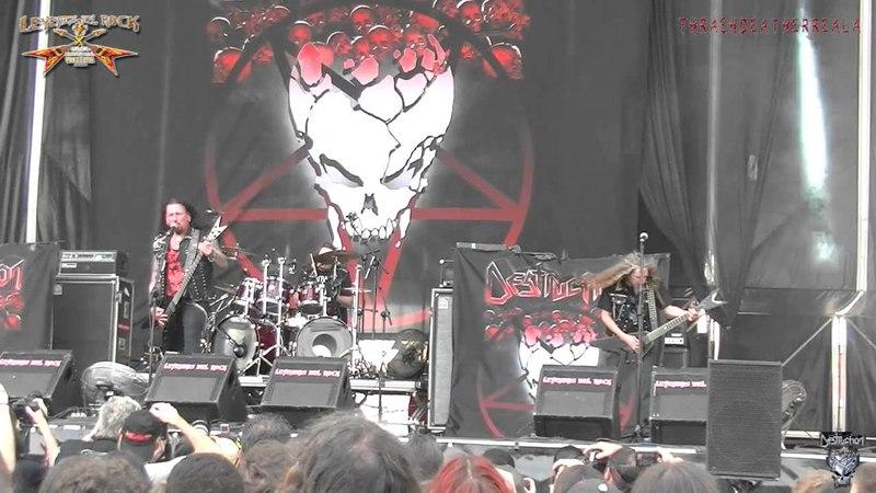 Destruction - Intro Curse the Gods (live Leyendas del Rock, 06-08-2015)