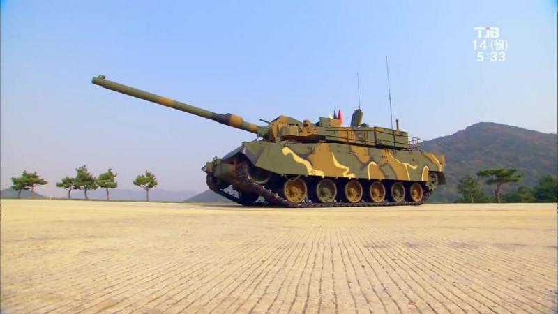 TJB - K-2 Black Panther Основной боевой танк [1080p]