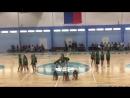 Выступление на баскетбольном матче МСГ МЧС