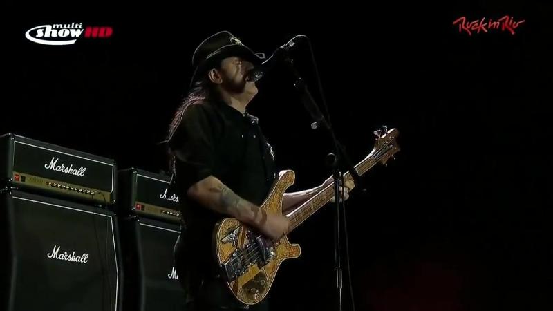 Motörhead. Rock In Rio (Live 2011 HD)