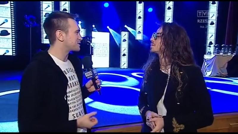 Rozmowa Adama Bieniasa z Michałem Szpakiem, który gościł w Rzeszowie na festiwalu Piosenka w Meloniku 2018.