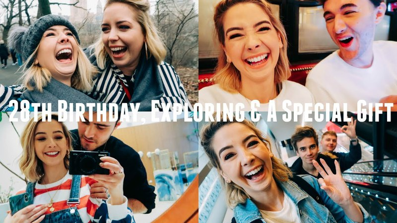 28TH BIRTHDAY EXPLORING SPECIAL GIFT NYC VLOGS