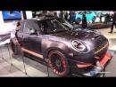 MINI John Cooper Works GP Concept Exterior Walkaround 2018 New York Auto Show