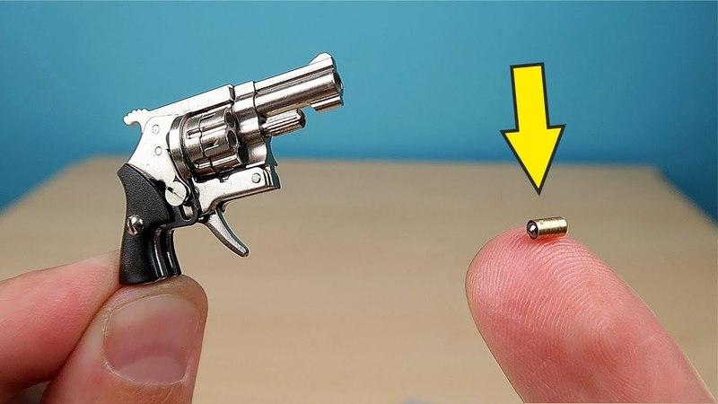 Микро Револьвер калибра 2мм который стреляет микро патронами alex boyko