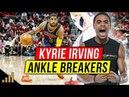 NEW! Top 5 KILLER Kyrie Irving Ankle Breaker Moves Basketball Moves to BREAK ANKLES Tutorial