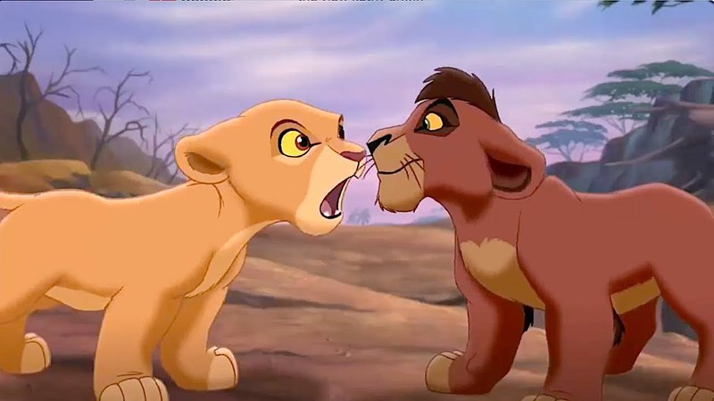 The Lion King 2 - Kiara meets Kovu for the First Time (720p HD)
