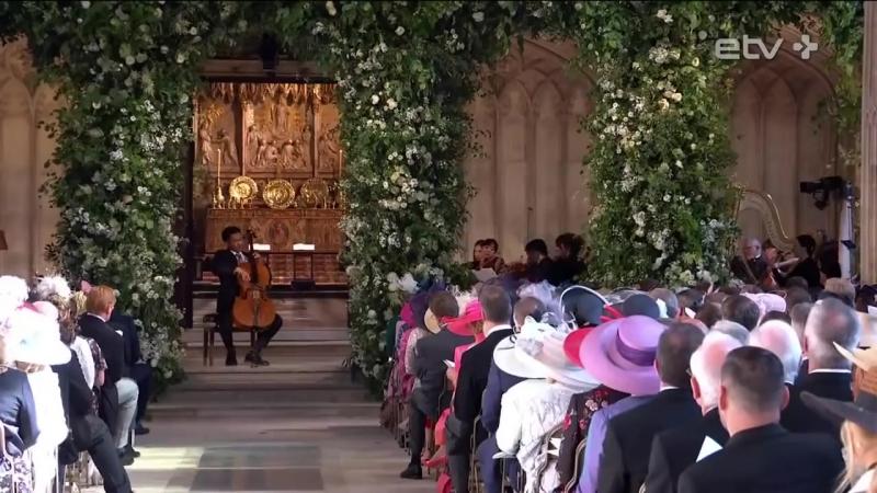 Королевская свадьба принца Гарри Уэльского и Меган Маркл с комментариями Татьяны Поляковой Видео с канала ETV Pluss