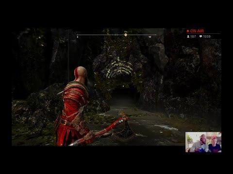 God of War Livestream - Dragon Snugs Butt Punch Time