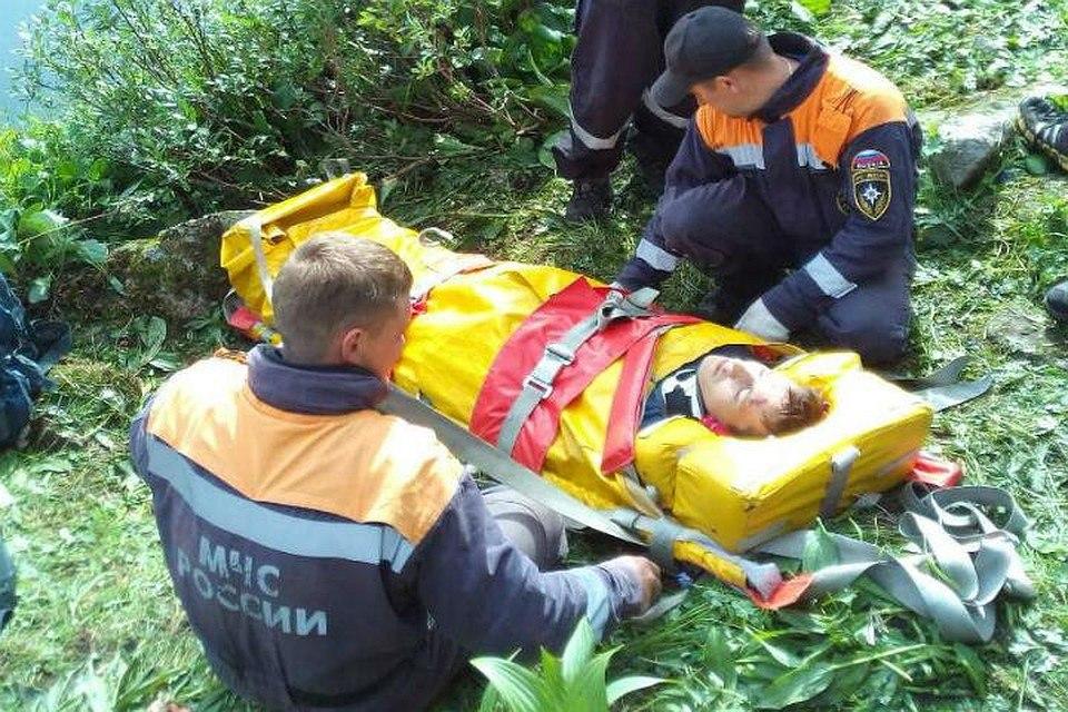 В Архызе при восхождении на гору пострадал турист