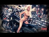 Holly Wolf and Isabel Martinez Two Hot Girls and The Indian Chieftain - Babes and Bikes