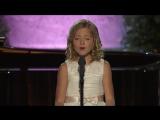 Невероятно,чтобы такая совсем ещё юная девочка так пела.Jackie Evancho