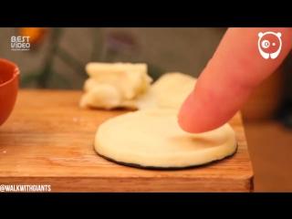 Делаем самую маленькую пиццу в мире