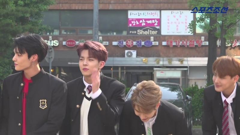 [180525] VICTON @ По пути на Music Bank sportschosun