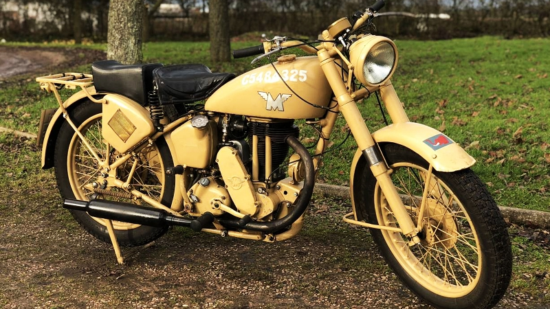 Мотоцикл Matchless Desert WW2 Military G3L, 1943 года