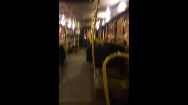 Автобус и призраки пассажиры