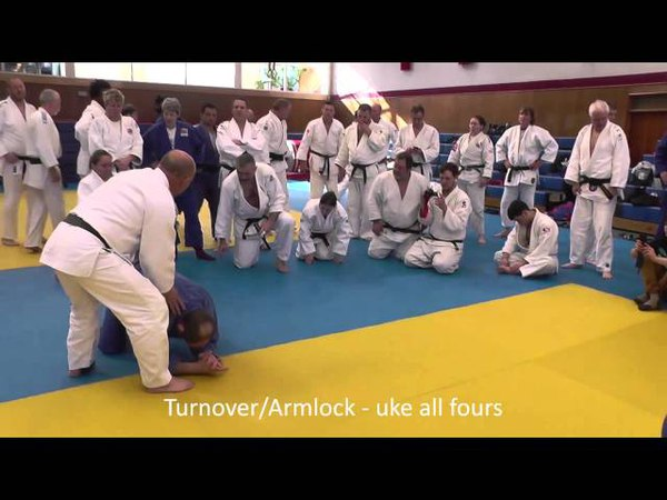 Judo Turnovers part 1 Steve Gawthorpe Series 2