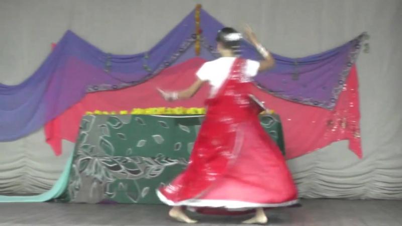 Радхаштами 17 Группа Раса - Мандала, танец Вишакхи Радхе Шьям