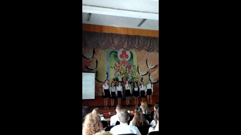 Битва хоров 6вкласс