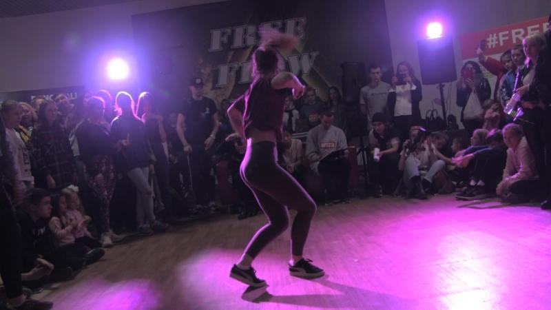 Free Flow Fest 2017. Dancehall pro 18. Николаева vs. Kostayn