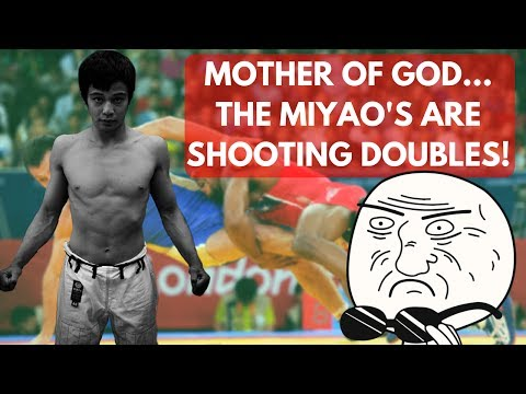Brace Yourselves... The Miyao Brothers are Shooting Double Legs!