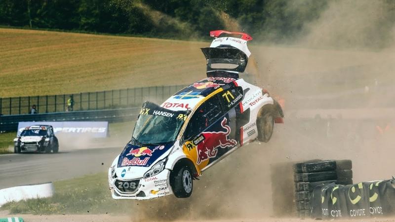 Rallycross - huge accident at 2017's Coyote World RX of Belgium
