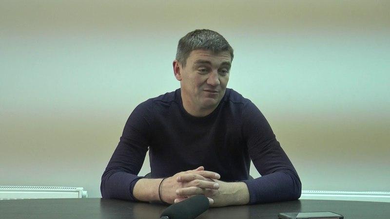 Руслан Костишин Пресс конференция матча МФК Николаев Колос Ковалевка 1 0