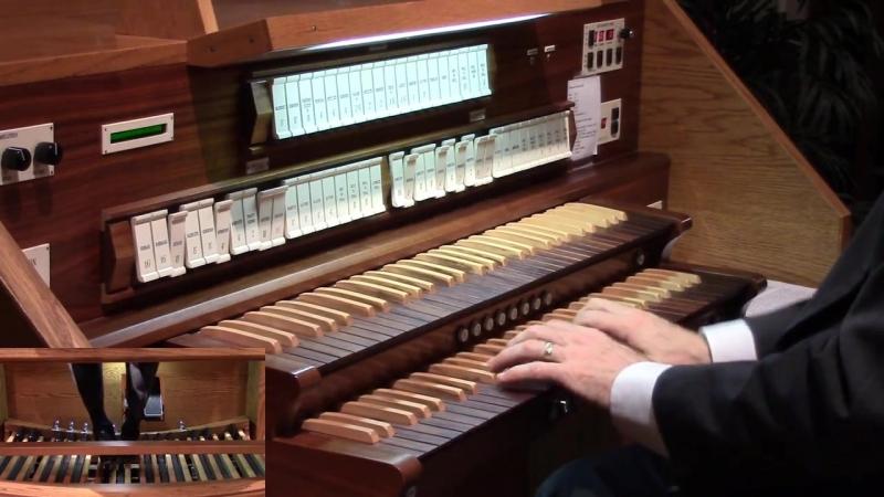 631 J. S. Bach - Komm, Gott Schöpfer, heiliger Geist (Orgelbüchlein No. 33), BWV 631 - David Kriewall
