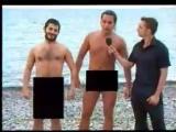Галустян и Рева на нудистком пляже