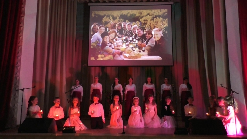 Воскресная школа храма Параскевы-Пятницы с.Песчаное