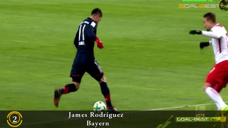 TOP ASSISTs of the Week | March 3 17/18 - Luka Modric, James Rodríguez