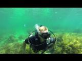 Погружение с аквалангом 17 09 2017 Тарханкут