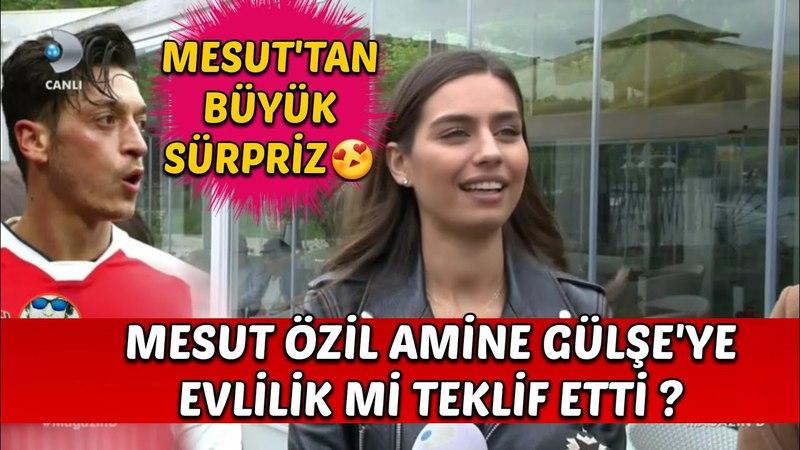 Mesut Özil Amine Gülşe'ye Evlilik mi Teklif Etti
