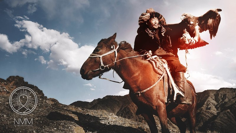 Mongolian Meditation Music relax mind body shamanic music, tuvan throat singing, healing music 405M
