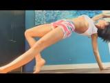 Milo Moiré | Мило Муаре занимается гимнастикой