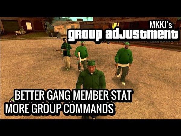 [GTA SA Mod] Group Adjustment Mod v2