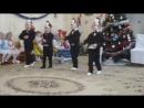 Новогодний утренний 26.12.2017. (6). Танец пингвинов.