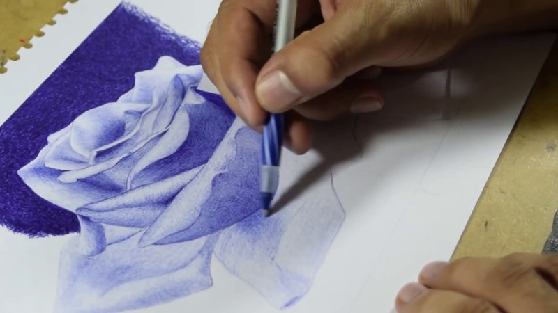 Tecnicas de Dibujo a Boligrafo Ballpoint Pen Techniques