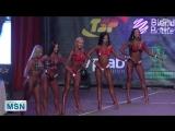 Чемпионат Москвы по ББ 2017. Фитнес-Бикини 169 см.