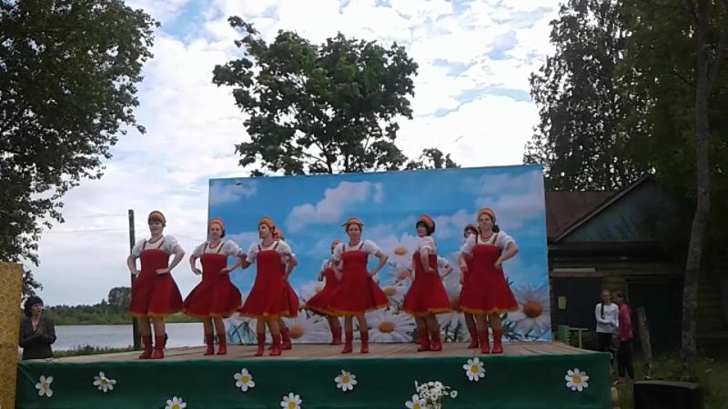 Танец Русская пляска Шоу группа КАПРИЗ