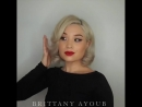 "B R I T T A N Y A Y O U B on Instagram: ""It's been a hot minute 🔥 Press Play ▶️ for a Vintage Glam DIY @brittanyayoub 💋 Mak"