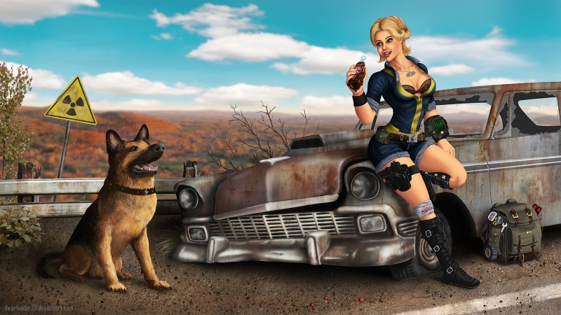 Fallout - trailer - music video - Warriors of the World - gameplay - HD