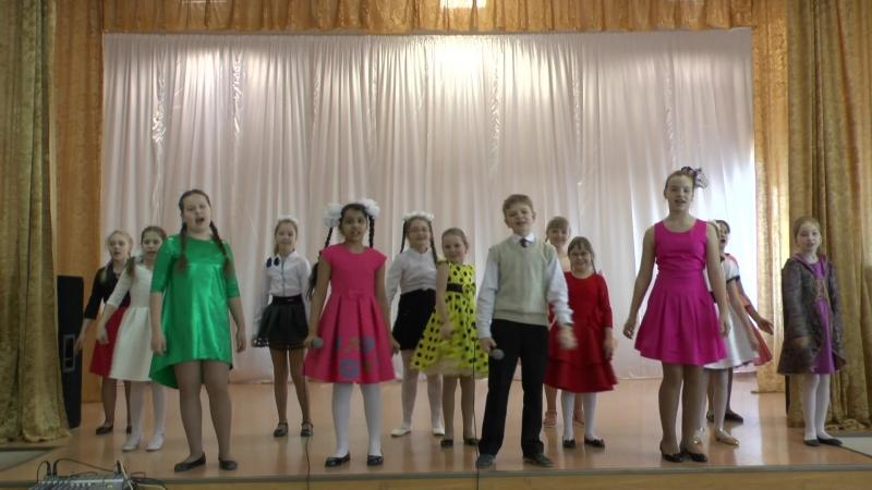 Вокальный ансамбль «Музыкальная палитра» 4 класс - «В гостях у сказки»