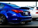 Motordyne Exhaust with Resonated Test Pipes Infiniti Q50