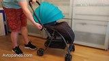 Лёгкая коляска Jetem Uno (жетем Уно). Подробное видео.