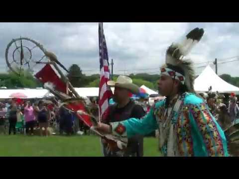 Grand Entry Saturday Afternoon - Redhawk Native Arts Raritan Pow Wow 2018